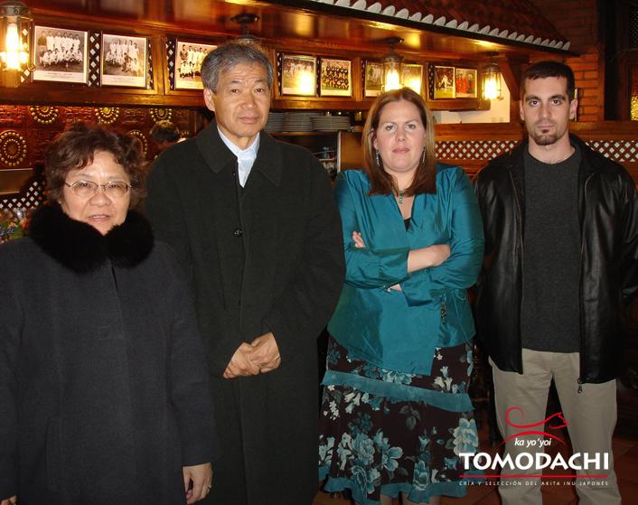 Comida/Reunión de J.A.S.A. con Izumi Awashima y nuestra amiga Chieko Sugiyama