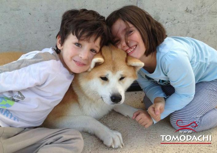 Tsubaki con su familia