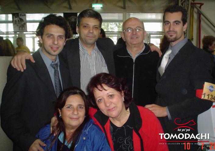 Con nuestro amigo Diego de Hakufumy-No, en Buenos Aires 2005 Campeonato del Mundo